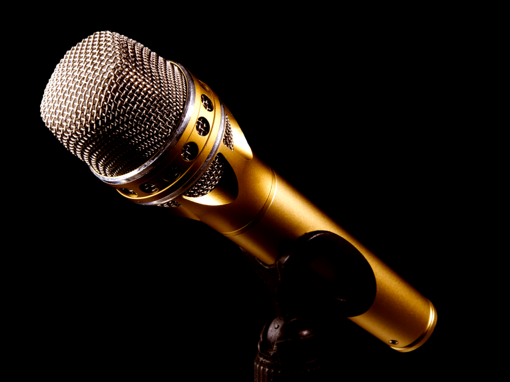 microphone, music, sing